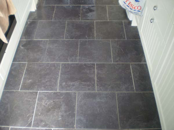 Floor Tile Repair After
